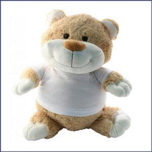 Knuffelbeer 21 cm met T-shirt