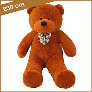 Grote bruine knuffelbeer van 230 cm