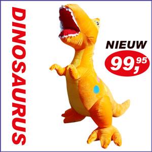 Dinosaurus-oranje