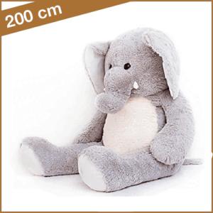Grote grijze olifant van 200 cm